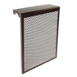 Экран для радиаторов 4 секц металл 610*390*145мм коричневый (10)