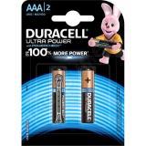 Батарейка AAA Мизинчиковая 1,5V UltraPower  2шт/упак (10) DURACELL