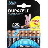 Батарейка AAA Мизинчиковая 1,5V UltraPower  8шт/упак (10) DURACELL