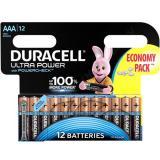 Батарейка AAA Мизинчиковая 1,5V UltraPower 12шт/упак (10) DURACELL