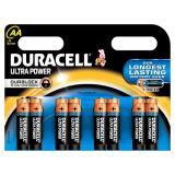 Батарейка AA Пальчиковая 1,5V UltraPower  8шт/упак (12) DURACELL