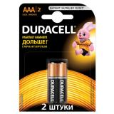 Батарейка AAA Мизинчиковая 1,5V LR03 Basic Alkaline  6шт/упак (10) DURACELL