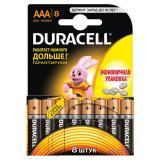Батарейка AAA Мизинчиковая 1,5V LR03 Basic Alkaline  8шт/упак (10) DURACELL