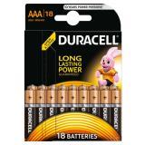 Батарейка AAA Мизинчиковая 1,5V LR03 Basic Alkaline 18шт/упак (10) DURACELL
