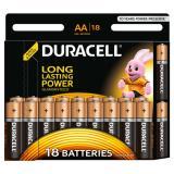 Батарейка AA Пальчиковая 1,5V LR6 Basic Alkaline 18шт/упак (10) DURACELL
