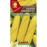 Кукуруза Ранняя Лакомка 121, 4г  (Аэлита) (10)