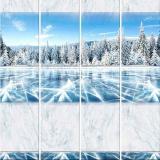 Панель ПВХ Unique Зимнее озеро 2700*250*8мм (12)
