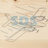 Доска для выжигания «Самолет»