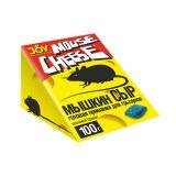 Средство против грызунов (восковой брикет) Мышкин сыр Joy 100гр (24)