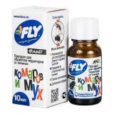 Концентрат Флай Joy от личинок комаров и мух 10мл (50)