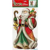Стикер PLX0701 Дед мороз в красной шубе