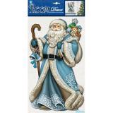 Стикер PLX0702 Дед мороз в синей шубе