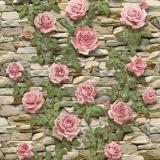 4683 Садовая роза (беж) обои влагост. на бум.основе 0,53*10 (Гомель Фокс) 24