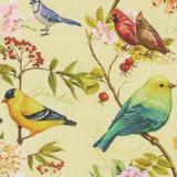 760 А клеёнка Пикассо 1,4*20м (птички)