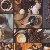830 А клеёнка Пикассо 1,4*20м (кофе)