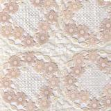 040C клеёнка Easy Lace 1,32*22м (бежевый цветок)