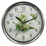 Часы настенные кварцевые ENERGY модель ЕС-128 белые розы