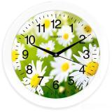 Часы настенные кварцевые ENERGY модель ЕС- 98 ромашки