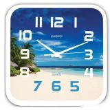 Часы настенные кварцевые ENERGY модель ЕС- 99 пляж