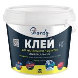 Клей для напольных покрытий универсальный 1.3 кг(6шт) HARDY