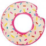 Круг для плавания Пончик,107х99см, 9+, INTEX