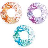 Круг надувной 91см, 3 цвета, от 9 лет, INTEX