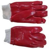 Перчатки х/б полное литье красные (12) НК