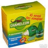 Комплект электрофумигатор+доп.флакон 45мл от мух, комар, слепни Chameleon