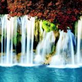 Фартук ПВХ Водопад 600*3000*1,5мм (5)
