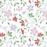 008198 пленка самоклеющаяся (цветы мелкие) 0,45*2м (Скрап) 20