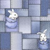 50416 Зайка (гол) обои дуплекс 0,53*10 (Гомель Фокс) 14