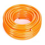 Шланг ПВХ армированный янтарь оранжевый d18мм/тс2,0мм бухта 25м (1)