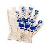 Перчатки  х/б с ПВХ Кошки белые (250)