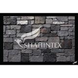 Коврик влаговпитывающий SHAHINTEX DIGITAL PRINT «Камни» 80*120см.