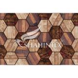 Коврик влаговпитывающий SHAHINTEX DIGITAL PRINT «Паркет» коричневый 120*1000см.