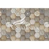 Коврик влаговпитывающий SHAHINTEX DIGITAL PRINT «Мозаика» бежевый 120*980см.