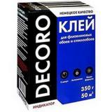 Клей обойный Decoro флизелин 350гр (50м2) (30)