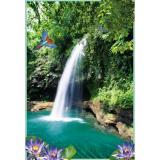 Водопад Фотообои 4л 134х201см (Тула)
