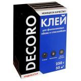Клей обойный Decoro флизелин 250гр (35м2) (30)