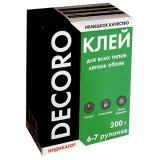 Клей обойный Decoro универсал 200гр (6-7 рул) (30)