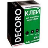 Клей обойный Decoro универсал 300гр (9-10 рул) (30)