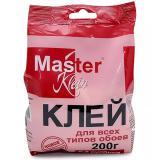 Клей обойный Мастер Кляйн для всех типов обоев (пакет) 200гр (24)