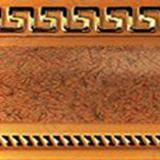 Бленда 68мм Версаче/Меандр песок (60м)