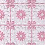 027A клеенка Easy Lace 1,32*22м (розовые ромашки)