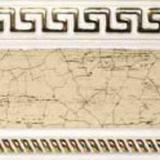 Бленда 68мм Версаче/Меандр №201 краке на белом (60м)
