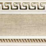 Бленда 68мм Версаче/Меандр №04 кожа на белом (60м)