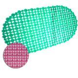 Коврик SPA 69*39см сеточка розовый (30)