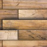 Панель стеновая ПВХ дерево орех 0,98х0,48м (10)
