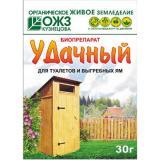 Средство для уличных туалетов и выгребн ям УДАЧНЫЙ 30г (порошок) (40)