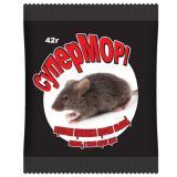 Средство против грызунов (зерно) СуперМОР  42гр (35)